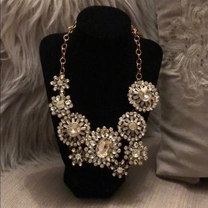 Jewelry - Gold and Silver Statement Necklace